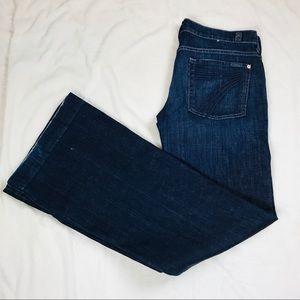 7 For All Mankind women's Dojo jeans size 32